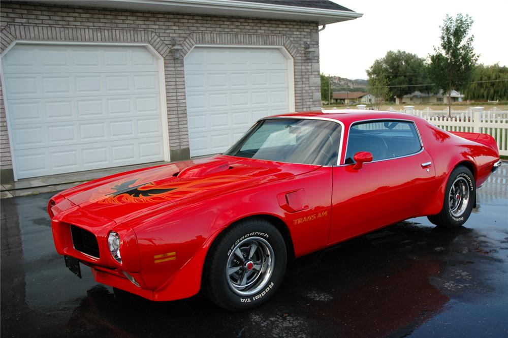 1973 Pontiac Firebird Trans Am 2 Door Hardtop 66117