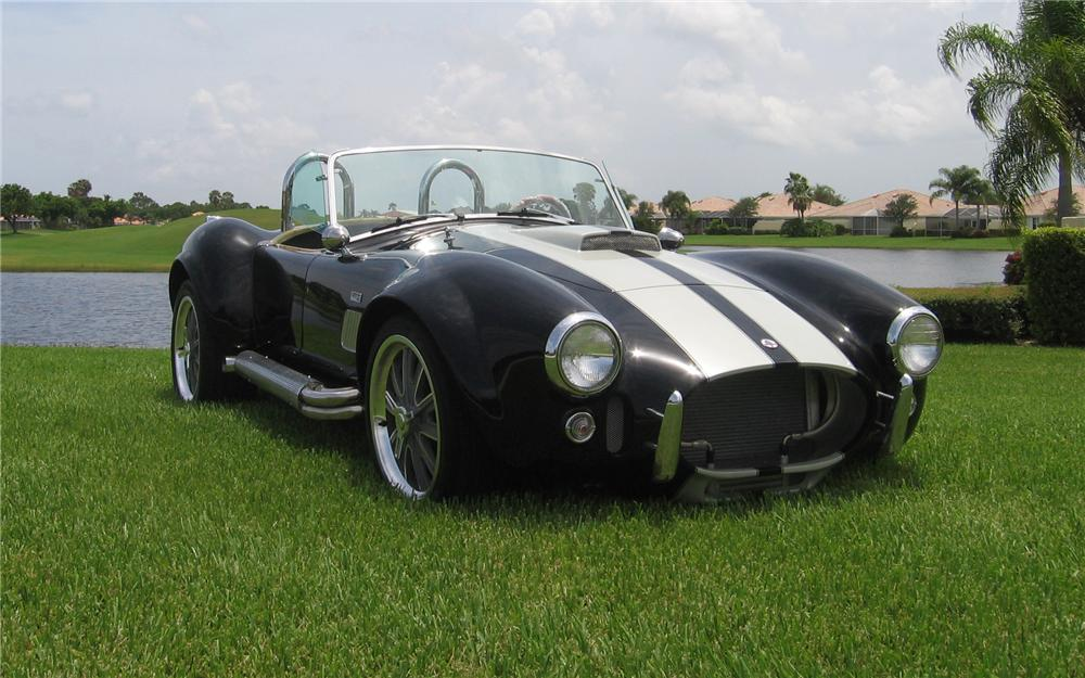 2008 DAY SC COBRA RE-CREATION ROADSTER - Front 3/4 - 66123