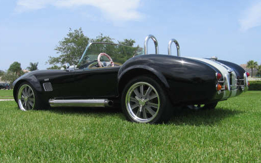 2008 DAY SC COBRA RE-CREATION ROADSTER - Rear 3/4 - 66123