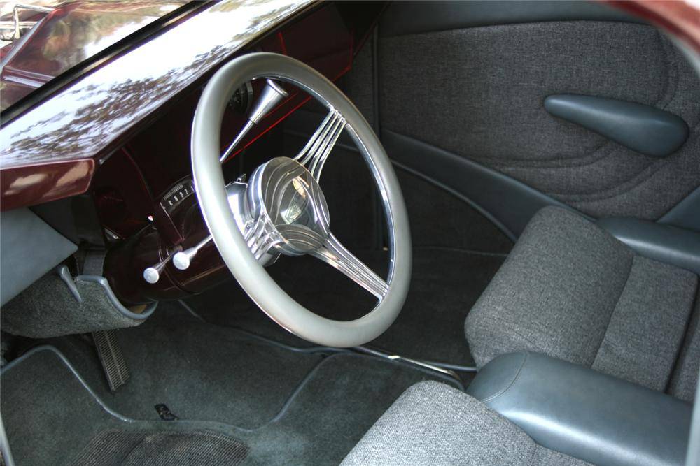 1936 FORD CUSTOM PICKUP - Interior - 66125