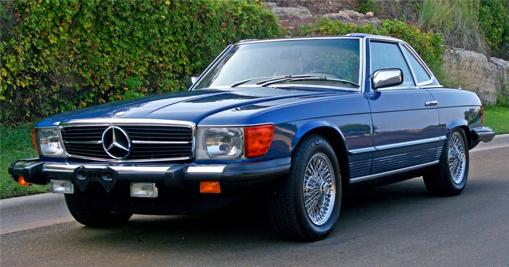 1979 Mercedes Benz 450sl Convertible 66126