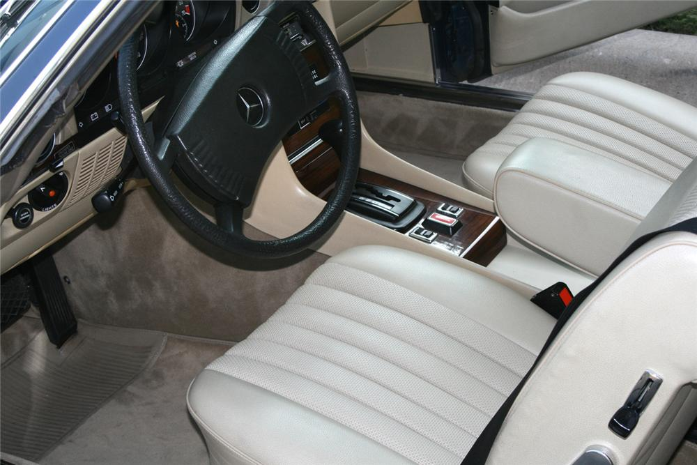 1979 MERCEDES-BENZ 450SL CONVERTIBLE - Interior - 66126