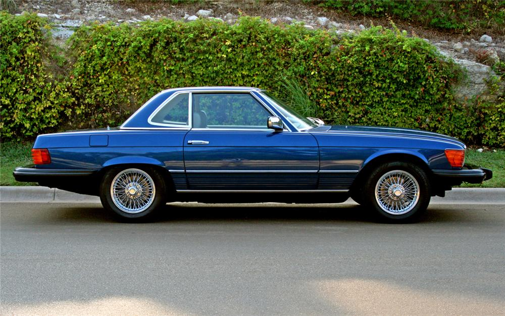 1979 MERCEDES-BENZ 450SL CONVERTIBLE - Side Profile - 66126