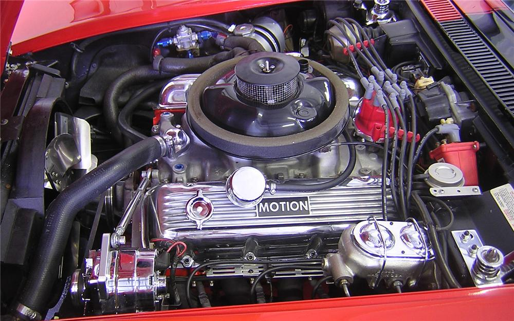1969 CHEVROLET CORVETTE CUSTOM COUPE - Engine - 66127