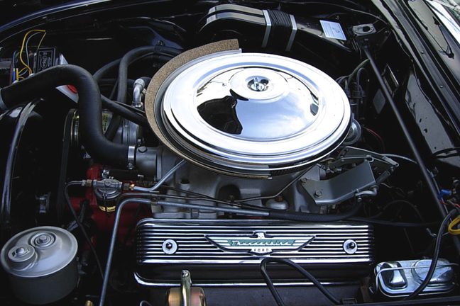 1957 FORD THUNDERBIRD CONVERTIBLE - Engine - 66133