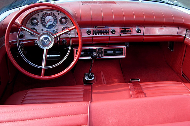 1957 FORD THUNDERBIRD CONVERTIBLE - Interior - 66133