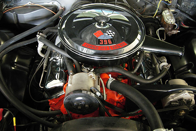 1966 CHEVROLET CHEVELLE SS 396 CONVERTIBLE - Engine - 66134