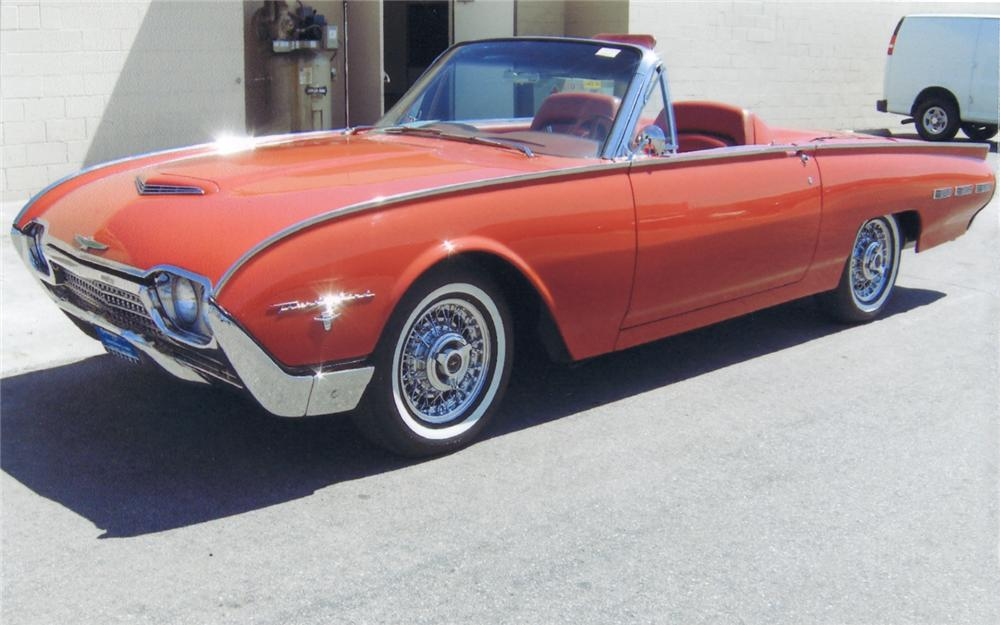 1962 FORD THUNDERBIRD 2 DOOR ROADSTER - Front 3/4 - 66142
