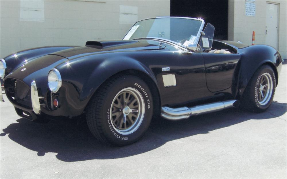 2005 FACTORY FIVE COBRA RE-CREATION ROADSTER - Front 3/4 - 66143