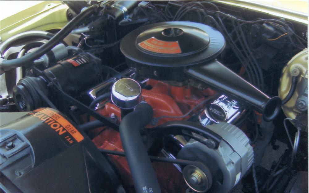 1967 CHEVROLET CAMARO RS COUPE - Engine - 66144