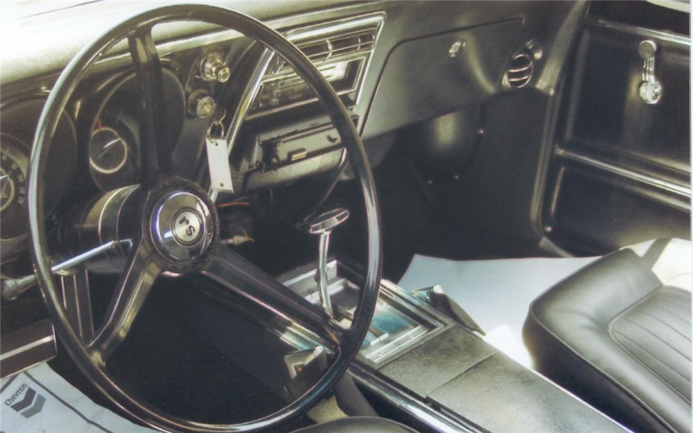 1967 CHEVROLET CAMARO RS COUPE - Interior - 66144