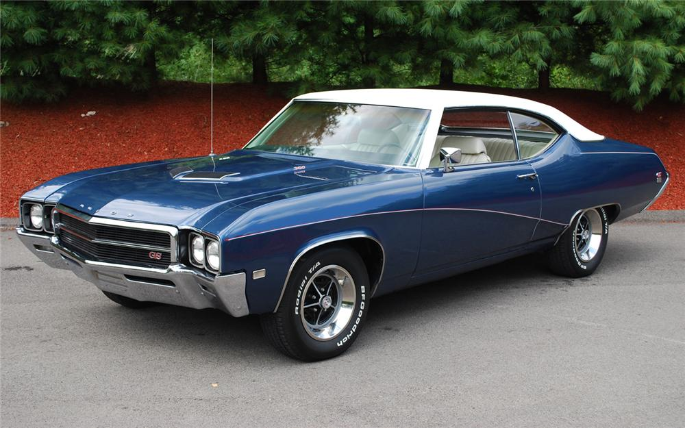 1969 BUICK GS350 HARDTOP COUPE - Front 3/4 - 66145