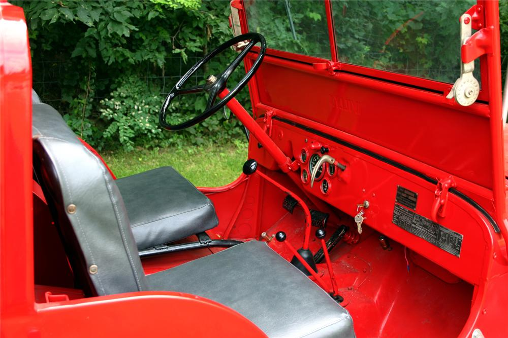 1949 Willys Jeep Cj2a Fire Truck