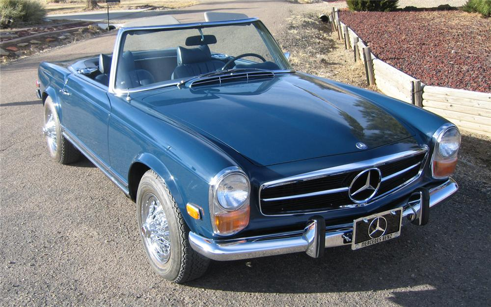 1971 MERCEDES-BENZ 280SL ROADSTER - Front 3/4 - 66154
