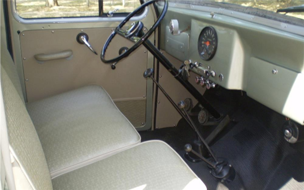 1960 WILLYS 4 DOOR STATION WAGON - Interior - 66157