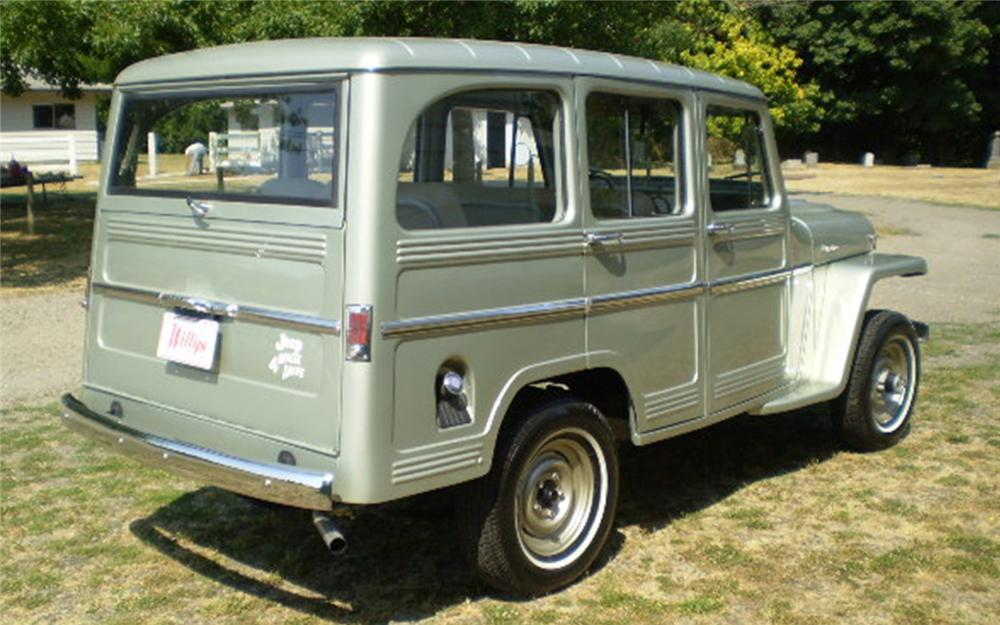 1960 WILLYS 4 DOOR STATION WAGON - 66157