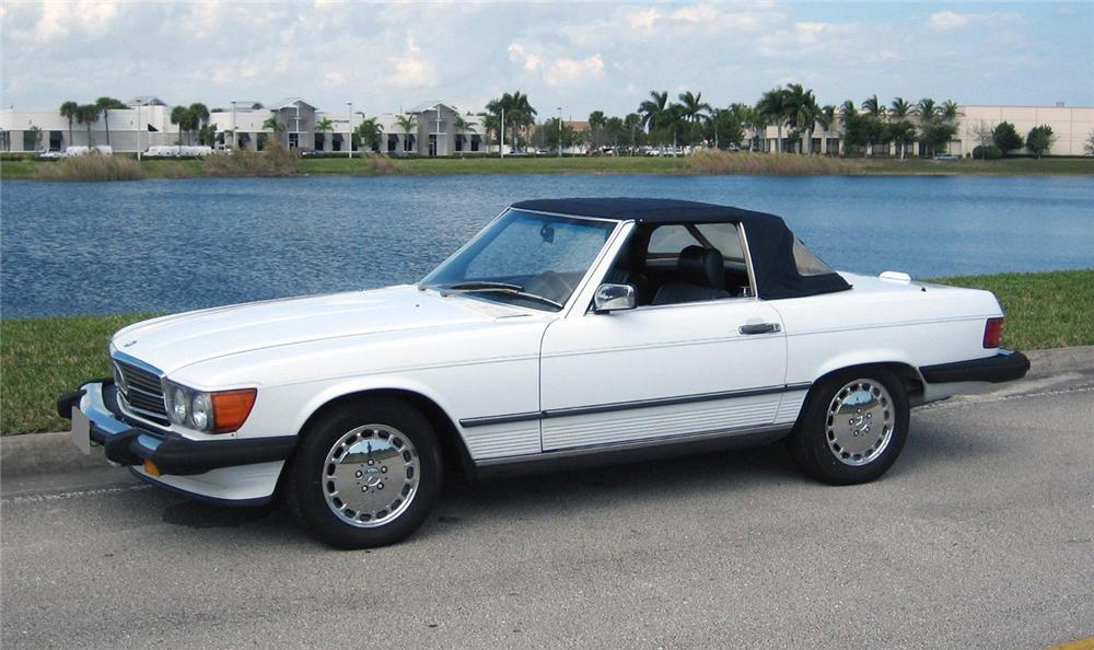 1986 MERCEDES-BENZ 560SL CONVERTIBLE - Interior - 66159