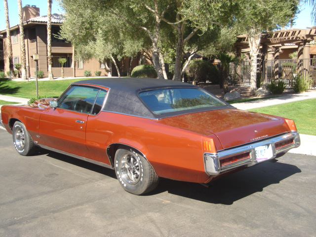 1969 PONTIAC GRAND PRIX HARDTOP COUPE - Rear 3/4 - 66161