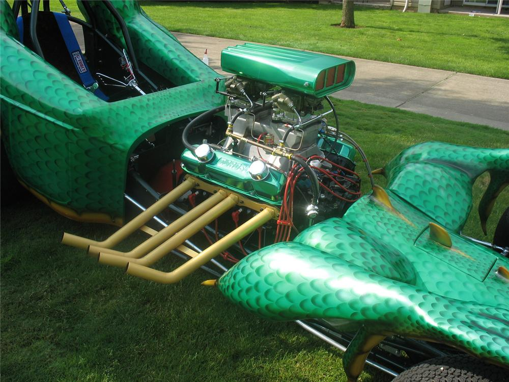 "2007 CUSTOM BUILT DRAGON RACE CAR ""DRAKKO"" - Engine - 66162"