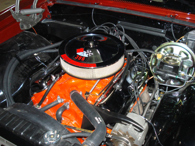 1966 CHEVROLET CHEVELLE SS 396 COUPE - Engine - 66165
