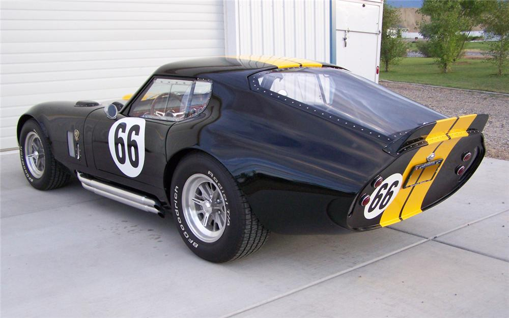 2005 FACTORY FIVE SHELBY DAYTONA COUPE RE-CREATION   - Rear 3/4 - 66167
