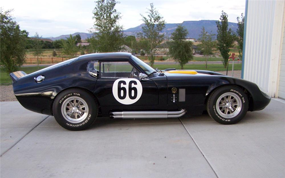 2005 FACTORY FIVE SHELBY DAYTONA COUPE RE-CREATION   - Side Profile - 66167
