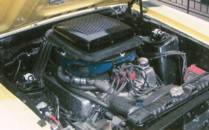 1970 FORD MUSTANG BOSS 302 FASTBACK - Engine - 66174