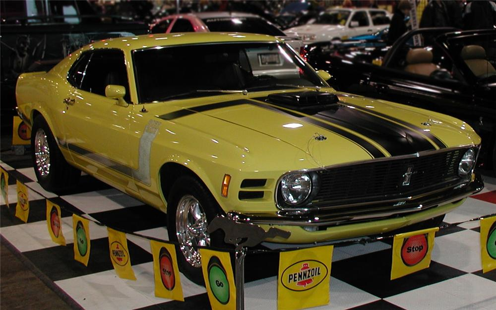 1970 FORD MUSTANG BOSS 302 FASTBACK - Front 3/4 - 66174