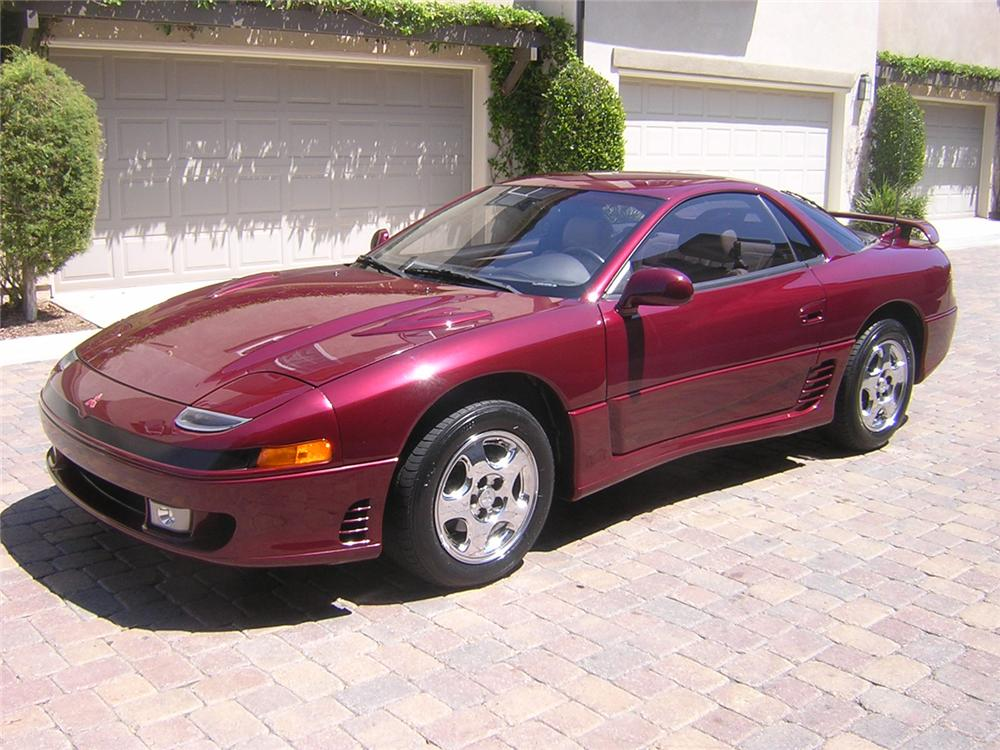 1991 MITSUBISHI 3000GT SL COUPE - Front 3/4 - 66175