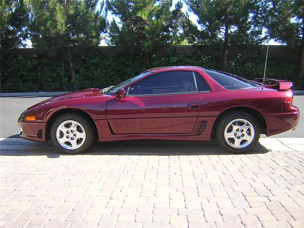 1991 MITSUBISHI 3000GT SL COUPE - Side Profile - 66175