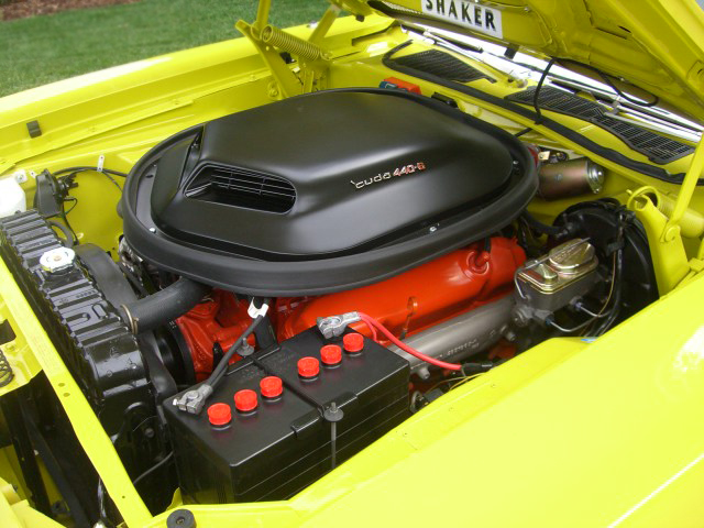1971 PLYMOUTH CUDA COUPE - Engine - 66176