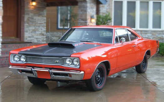 1969 DODGE SUPER BEE COUPE - Front 3/4 - 66177