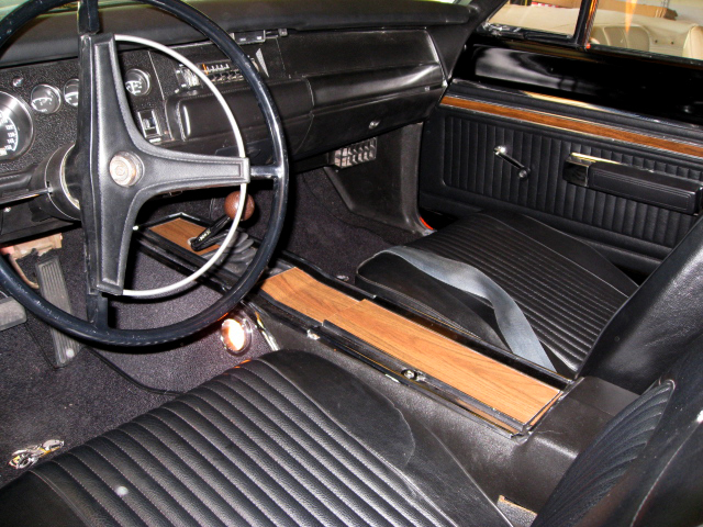 1969 DODGE SUPER BEE COUPE - Interior - 66177