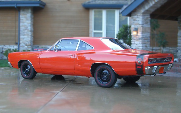 1969 DODGE SUPER BEE COUPE - Rear 3/4 - 66177