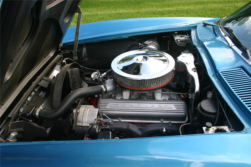 1966 CHEVROLET CORVETTE COUPE - Engine - 66193
