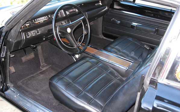 1969 PLYMOUTH HEMI ROAD RUNNER COUPE - Interior - 66199