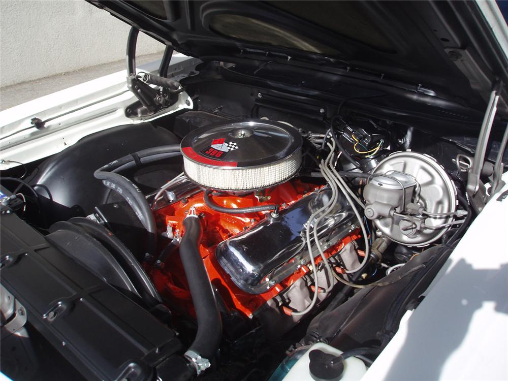 1969 CHEVROLET EL CAMINO SS PICKUP - Engine - 66201