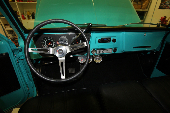 1968 CHEVROLET C-10 SHORT BED PICKUP - Interior - 66206