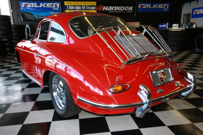 1963 PORSCHE 356 COUPE - Rear 3/4 - 66208