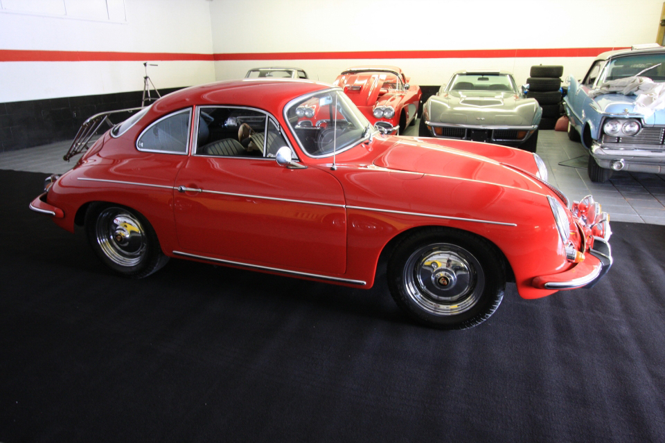 1963 PORSCHE 356 COUPE - Side Profile - 66208