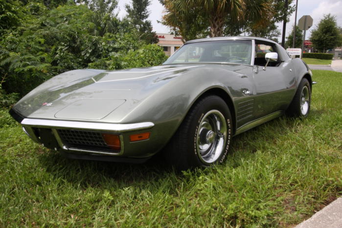 1972 CHEVROLET CORVETTE COUPE - Front 3/4 - 66209