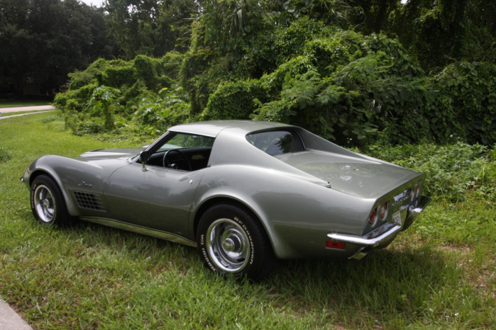 1972 CHEVROLET CORVETTE COUPE - Rear 3/4 - 66209
