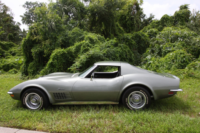 1972 CHEVROLET CORVETTE COUPE - Side Profile - 66209