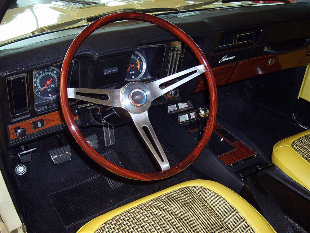 1969 CHEVROLET CAMARO RS/SS COUPE - Interior - 66228