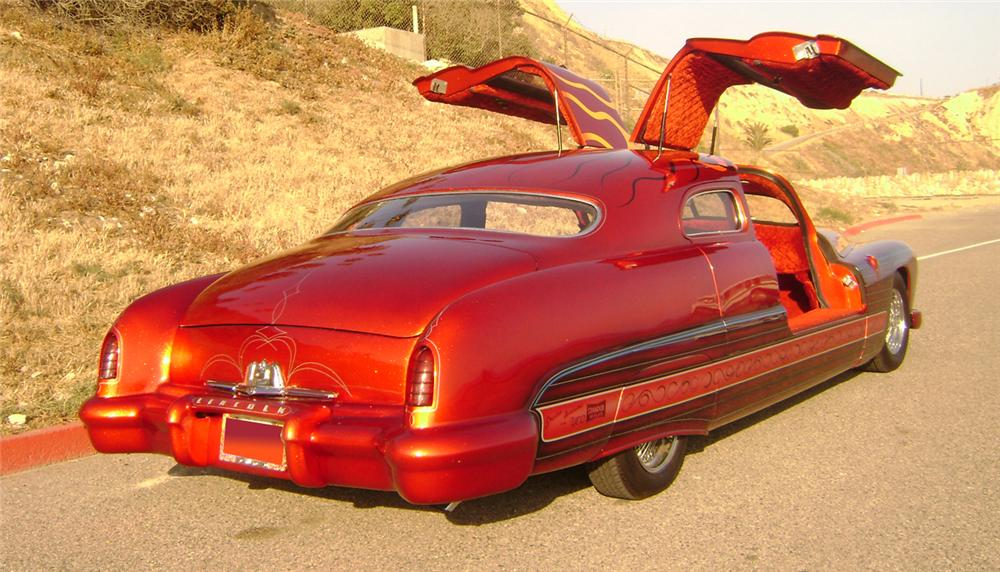 1951 LINCOLN COSMOPOLITAN CUSTOM GULLWING - Rear 3/4 - 66231