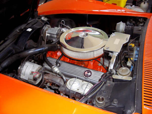 1969 CHEVROLET CORVETTE CONVERTIBLE - Engine - 66243