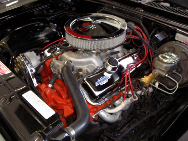 1969 CHEVROLET NOVA COUPE YENKO RE-CREATION - Engine - 66244