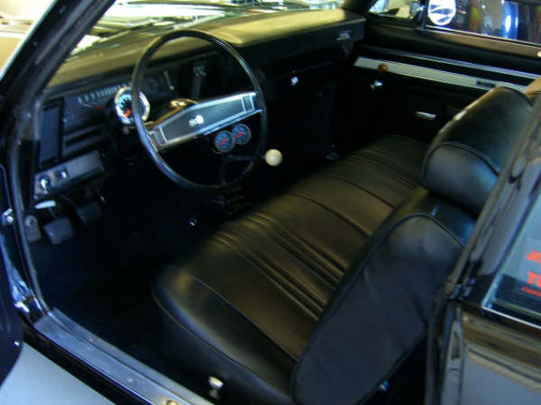 1969 CHEVROLET NOVA COUPE YENKO RE-CREATION - Interior - 66244