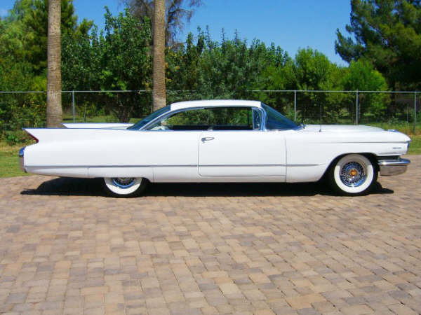 1960 CADILLAC SERIES 62 2 DOOR HARDTOP - Side Profile - 66246