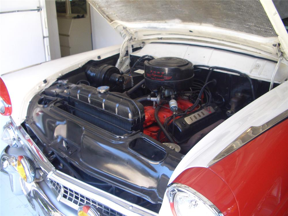 1955 FORD CROWN VICTORIA 2 DOOR COUPE - Engine - 66247